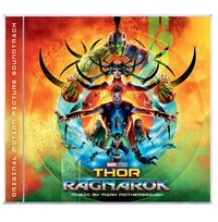 Thor: Ragnarok Movie Soundtrack by Mark Mothersbaugh