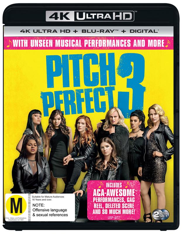 Pitch Perfect 3 (4K UHD + Blu-ray) on UHD Blu-ray