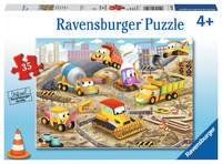 Ravensburger : Raise the Roof! Puzzle 35pc