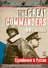 War Collection, The - The Great Commanders: WWII Heroes - Eisenhower And Patton on DVD