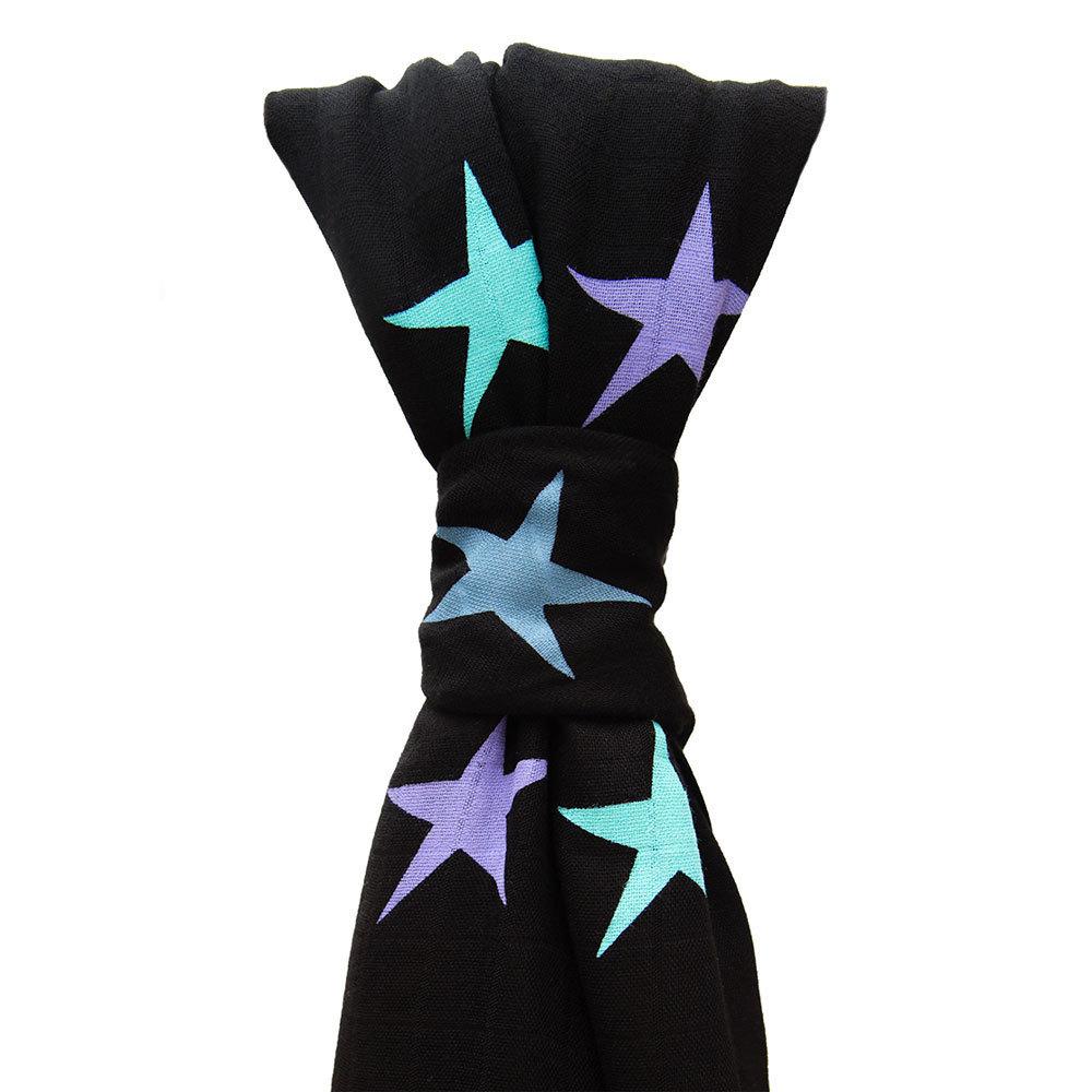 Cuski: Sweet Dreameezz Muslin - Midnight Stars image