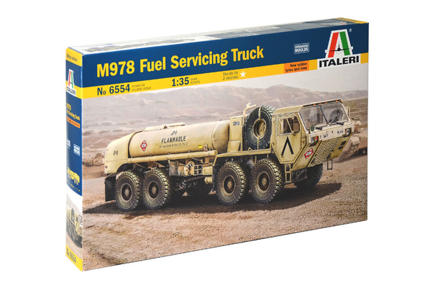 Italeri 1/35 M978 Fuel Servicing Truck - Scale Model Kit