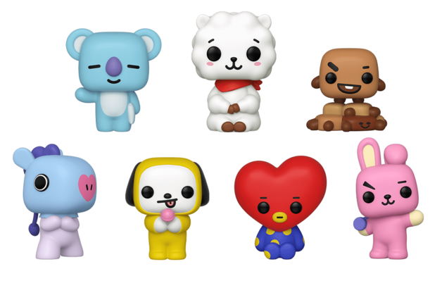 BT21 - Pop! Vinyl 7-Pack