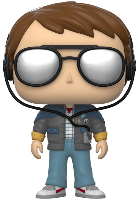 Back to the Future: Marty (with Sunglasses) - Pop! Vinyl Figure