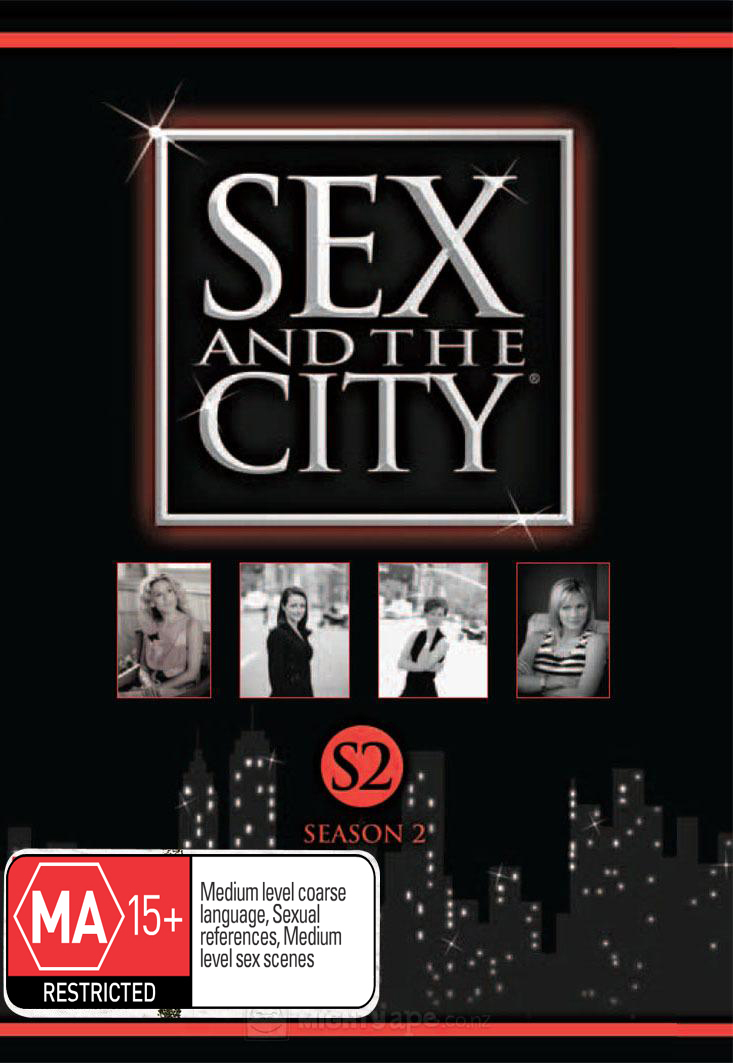 Sex And The City - Season 2 (3 Disc Set) on DVD image