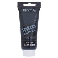 100ml Reeves Intro Acrylic - Mars Black