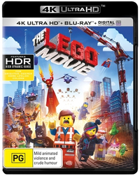 The Lego Movie on Blu-ray, UHD Blu-ray