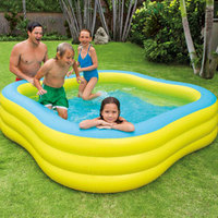 Intex: Beach Wave Swim Center - Family Pool