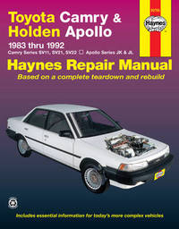Toyota Camry & Holden Apollo (83 - 92) by Mike Forsythe