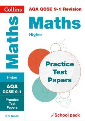 AQA GCSE 9-1 Maths Higher Practice Test Papers | Collins GCSE Book
