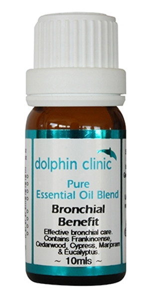 Dolphin Clinic Essential Oil Blend - Bronchial Benefit (10ml)