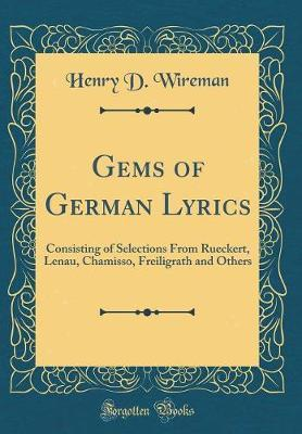 Gems of German Lyrics by Henry D Wireman image