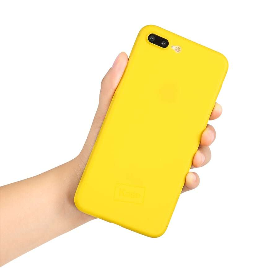 Go Original iPhone 8 Plus Slim Case- Yellow Submarine image