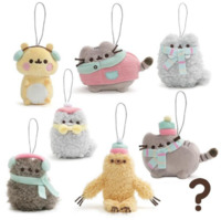 Pusheen: Hanging Plush [Series 10] - Winter Wonderland (Blind Box)