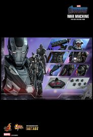 Avengers: Endgame - War Machine - 1:6 Scale Diecast Figure image