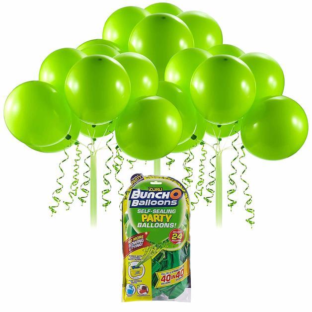 Bunch O' Balloons: Self Sealing Party Balloons - (24 x Green)