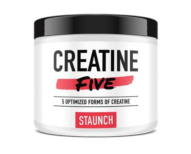 Staunch Nutrition: Creatine Five - Fruit Punch (50 Serve)