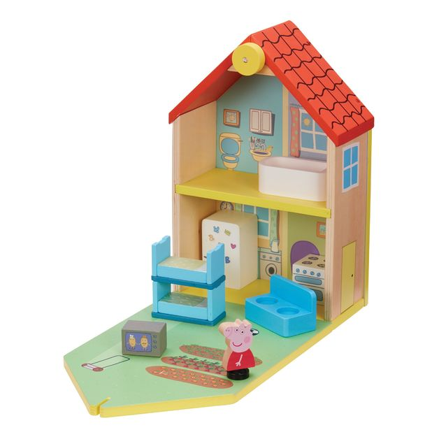 Peppa Pig: Wood Play Family House