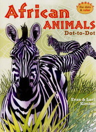 African Animals Dot-to-Dot by Evan Kimble image