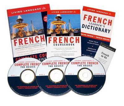 French Complete Course CD Programme by Living Language image