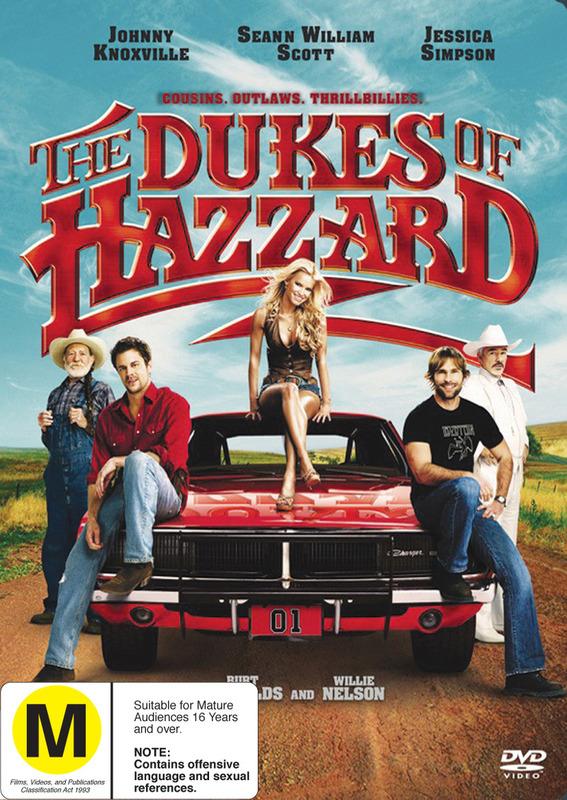 The Dukes of Hazzard on DVD