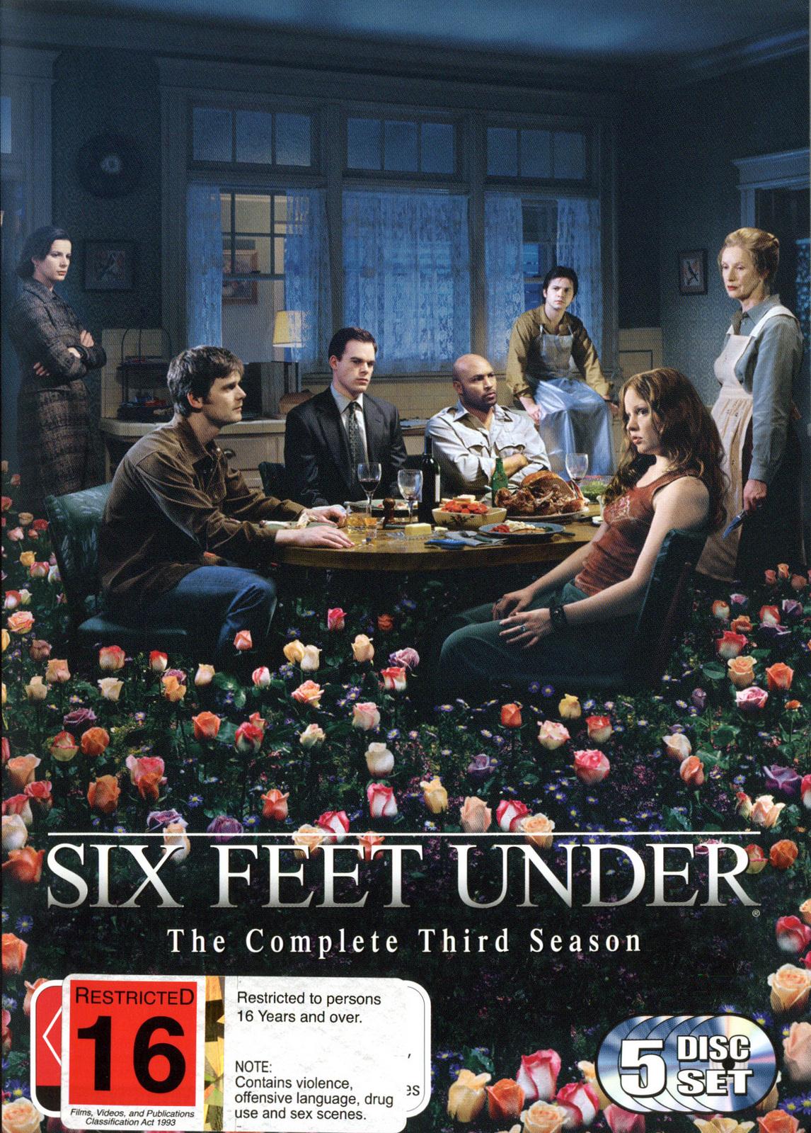 Six Feet Under - Complete Third Season (5 Disc Box Set) on DVD image