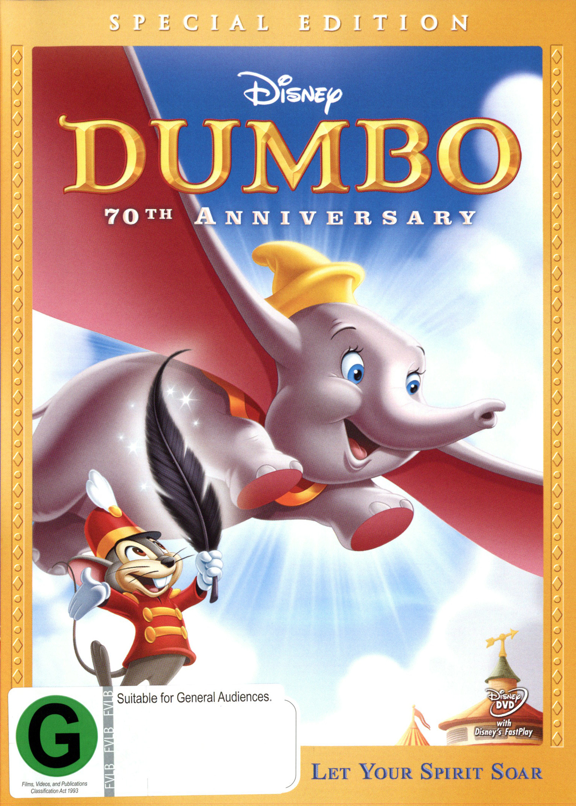 Dumbo: Special Edition on DVD image