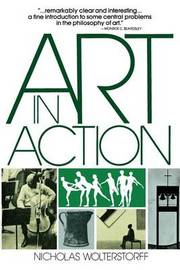 Art in Action by Nicholas Wolterstorff