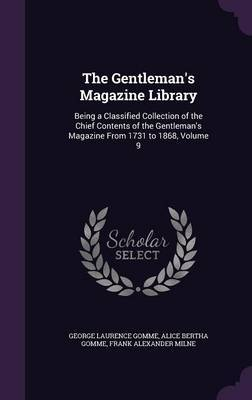 The Gentleman's Magazine Library by George Laurence Gomme image