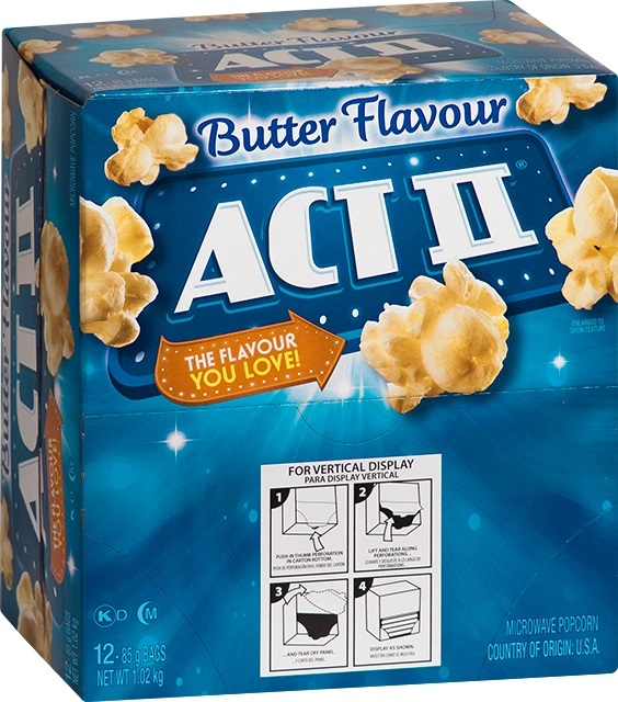 ACT II: Butter 85g (12 Pack)