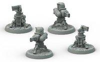 Fallout: Wasteland Warfare Terrain Expansion: Turrets