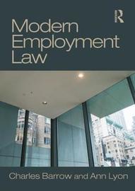 Modern Employment Law by Charles Barrow