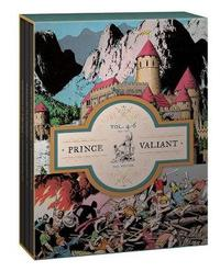 Prince Valiant Volumes 4-6 Gift Box Set by Hal Foster image
