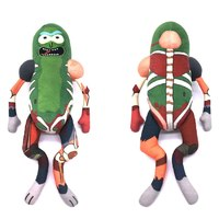 "Rick and Morty - Pickle Rick Rat Suit 18"" Plush image"