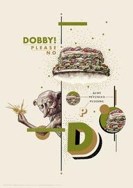 Harry Potter: Premium Art Print - Dobby Please No!