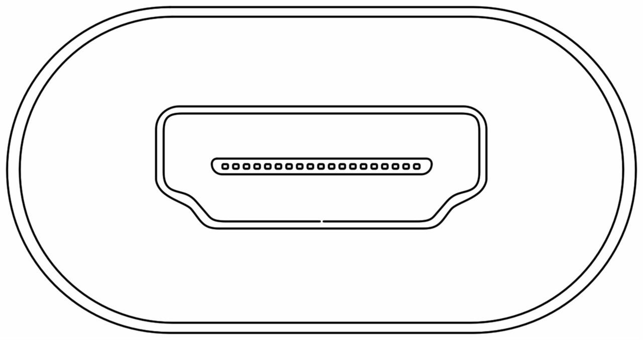 Goobay: USB-C to HDMI Adapter - Black image