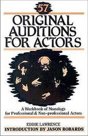 57 Original Auditions for Actors by Eddie Lawrence image