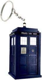Doctor Who - Tardis Light Up Keyring image