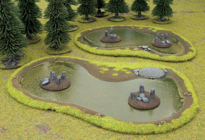 Battlefield in a Box - Swamps image