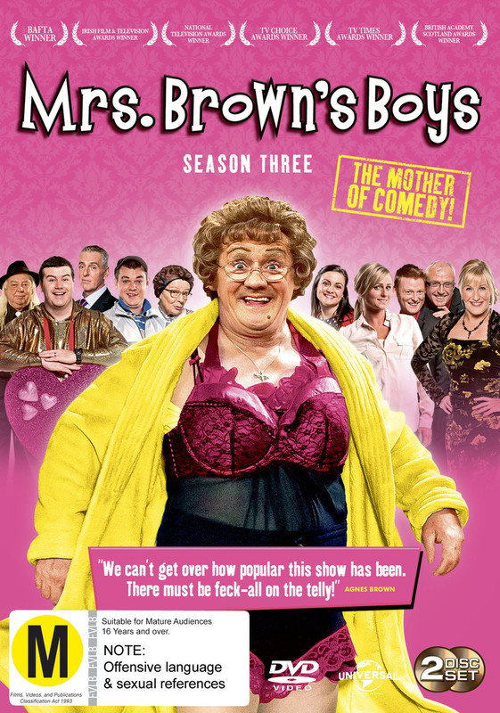 Mrs Brown's Boys - Season Three on DVD