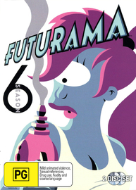 Futurama - Season 6 on DVD