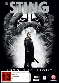 WWE - Sting: Into The Light on DVD