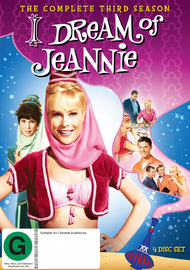 I Dream of Jeannie (Season 3) on DVD