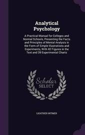 Analytical Psychology by Lightner Witmer image