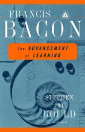 Advancement Of Learning by Francis Bacon image