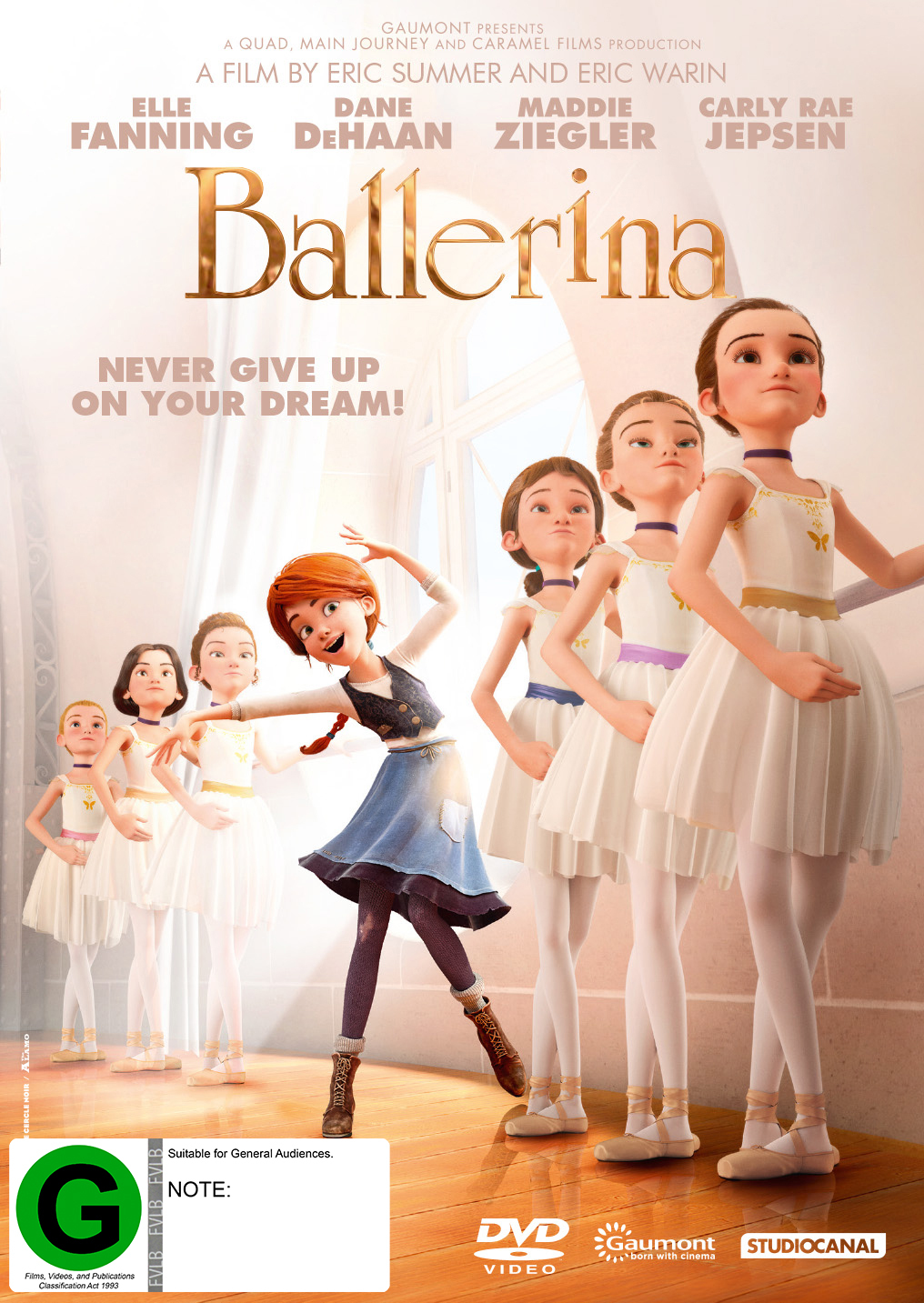 Ballerina on DVD image