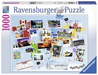 Ravensburger: World Travel Memories - 1000pc Puzzle