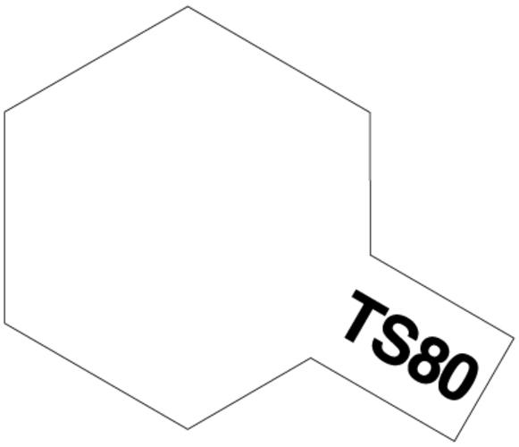 Tamiya TS-80 Flat Clear - 100ml Spray Can