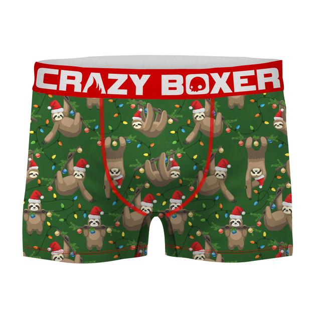 Crazy Boxer: Slothmas Boxers - Large