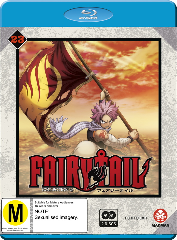 Fairy Tail: Final Season - Collection 23 (Eps 278-290) on Blu-ray